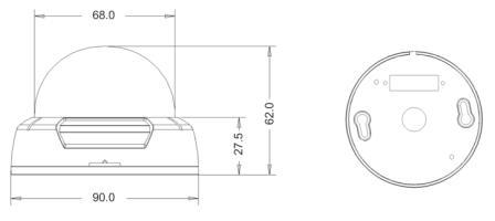 Размеры MDC-7220F
